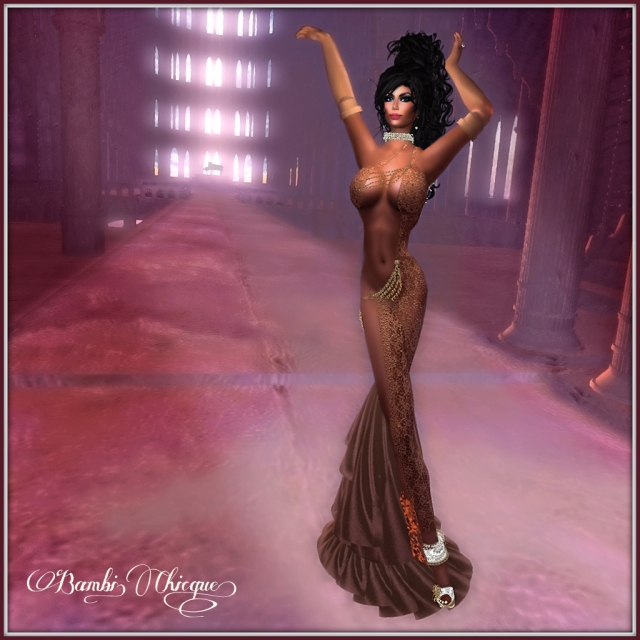 Bambi Chicque Entry for 2013 Oscar Fashion Photo Contest