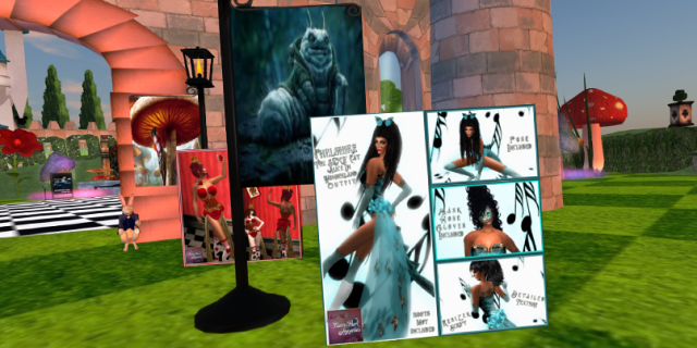 "A couple of BamPu Legacies Designs Displayed at Two Moons Paradise ""Alice In Wonderland"" Event"