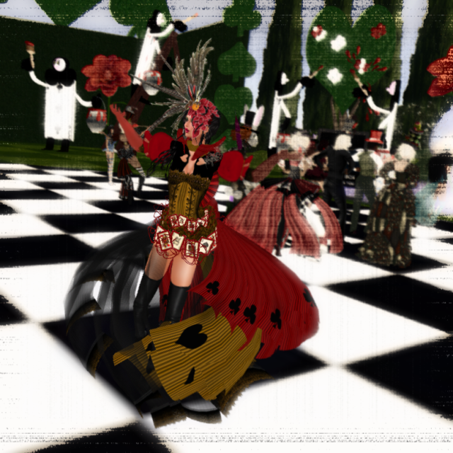 "Shiran Modeling My Alice In Wonderland ""Majestic"" Queen of Hearts Dress"