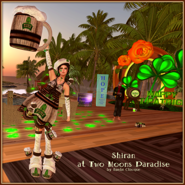 Shiran At Two Moons Paradise