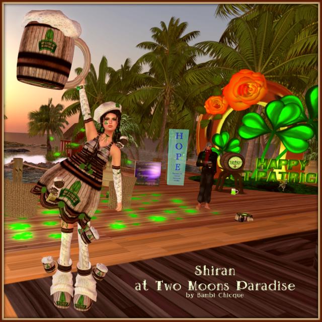 Shiran At Two Moons Paradise