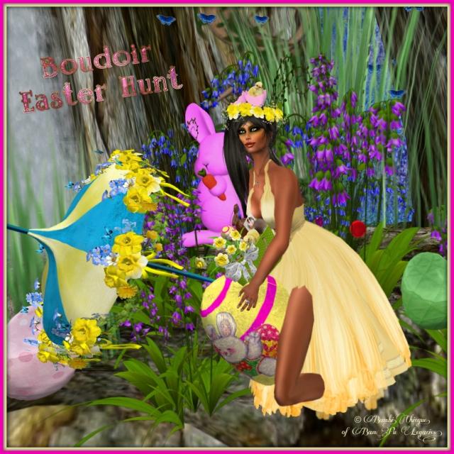 Boudoir Easter Hunt 2013