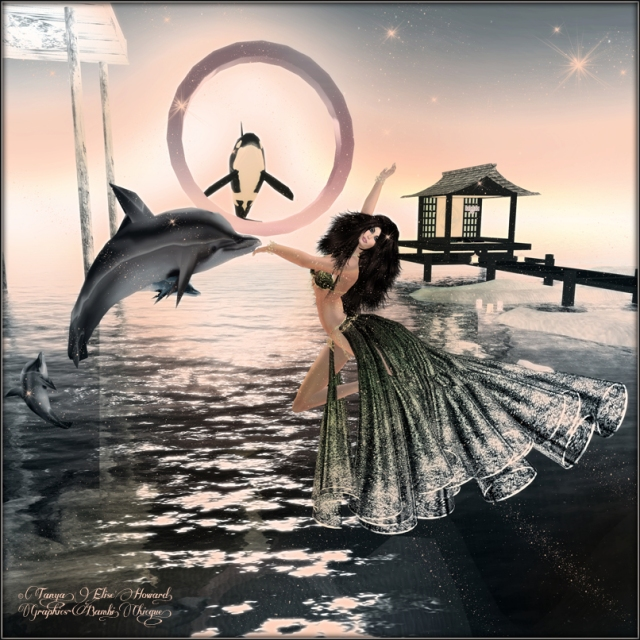 Dolphin Dance ~ Pose: Grafica's Isadora-007