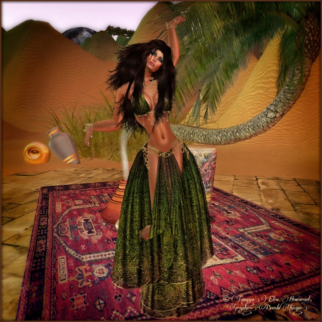 Mayan Drifter~ I'm Still Here ~ Pose: Grafica's Marionetta-#001 ~ Attire:  Kastle Rock's Maya Earthen