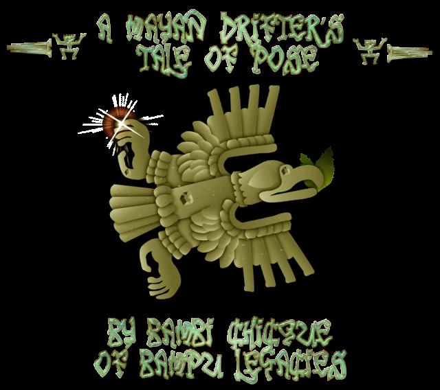 Bambi's Mayan Pose Logo
