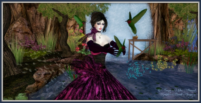 Within My Garden ~ Bambi Chicque ~ Pose & Prop by elephante ~ Flightless Bird