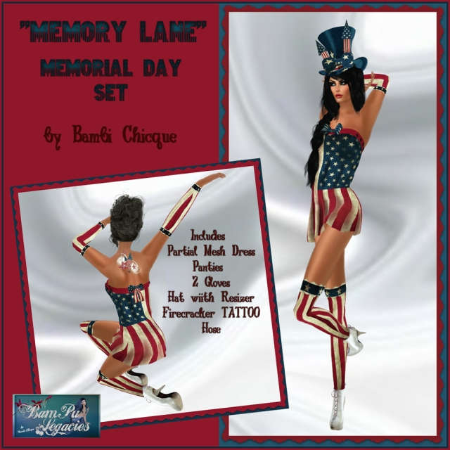 Memory Lane Dress Set for Memorial Day 2013