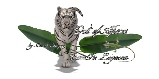 Out Of Africa Tiger Logo