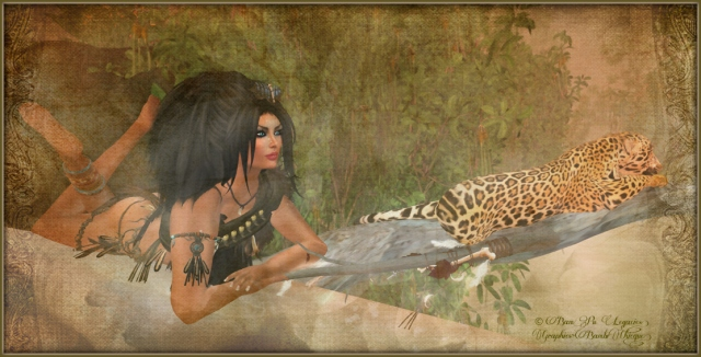 """Pulse Of Africa"" by Bambi Chicque ~ Sim:  Jungle Starhaven"