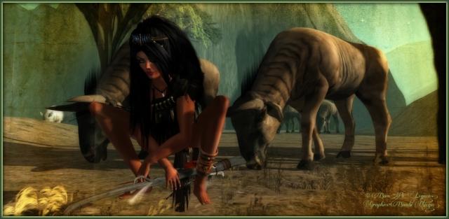 """Rasps In The Grasslands"" by Bambi Chicque ~ Sim: Jungle Starhaven"