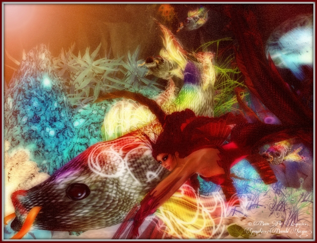 Tranquil Harmony ~ Mermaid Ensemble Erare Sirens Fury ~ Rainbow Fish by Chanimations deviousMind
