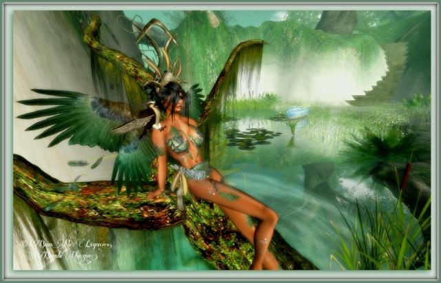 Channing Eagle Fairy ~ Princess Bambina