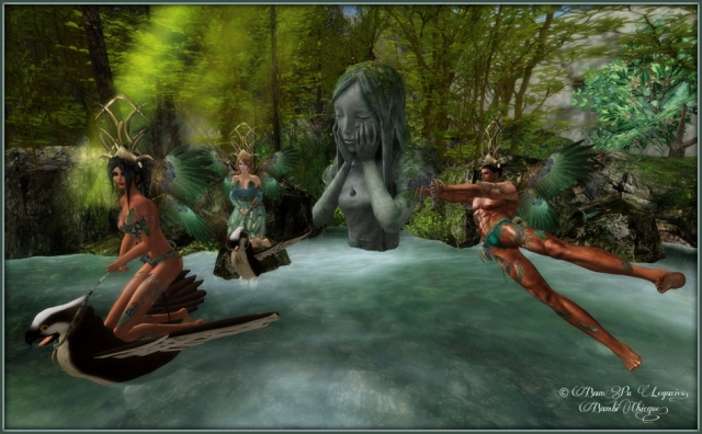 Shore Up ~ Vaneza, Bambina & Micah Prepare For The Quest
