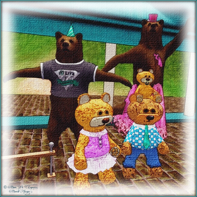 SL10B Bear Avatar ~ Bambi Bear Dancing