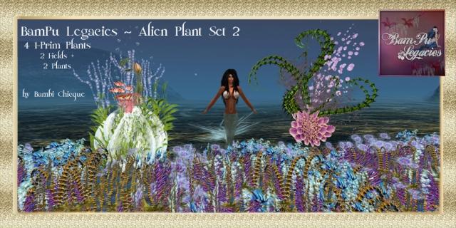 Alien Plant Set 2
