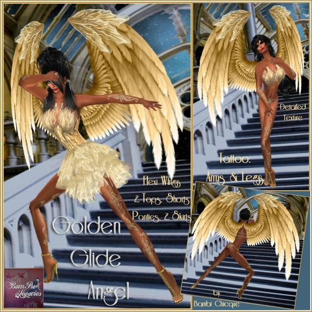 Golden Glide Angel