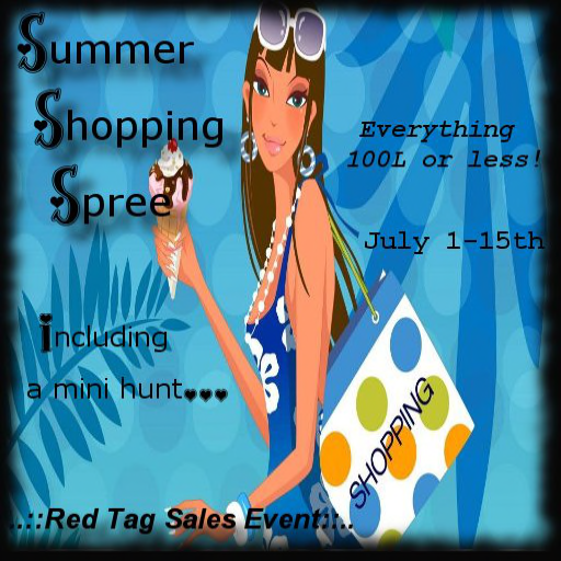 RTSE- Summer Shopping Spree poster