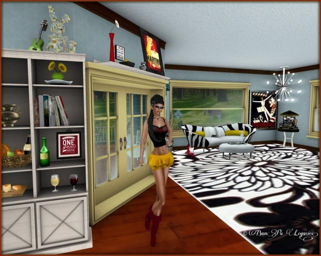 Spangled ~ Yes Spangled My Beach Home Living Room!