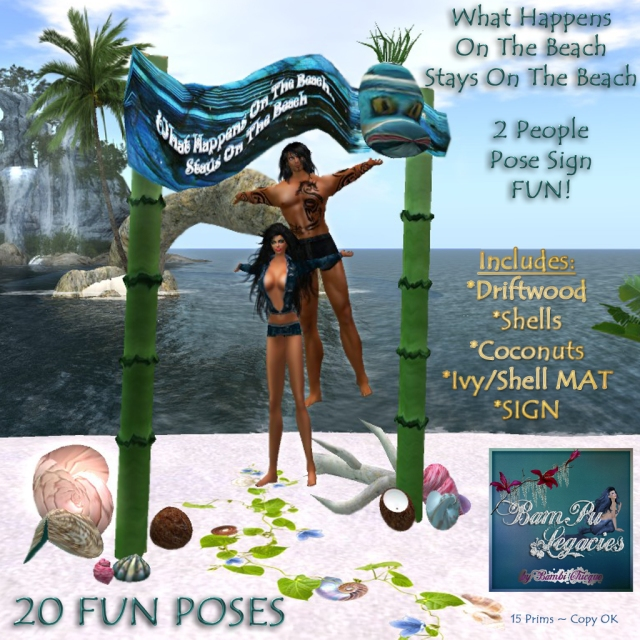 What Happens On The Beach Stays On The Beach ~ 20 Fun Poses!