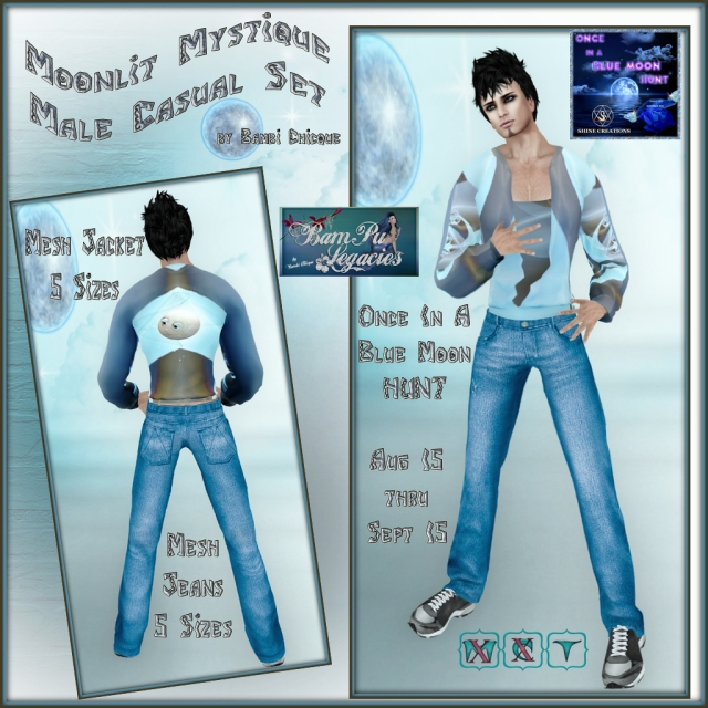 Moonlit Mystique ~ Once In A Blue Moon Hunt ~ BamPu Legacies Shop at Shine Creations Mall