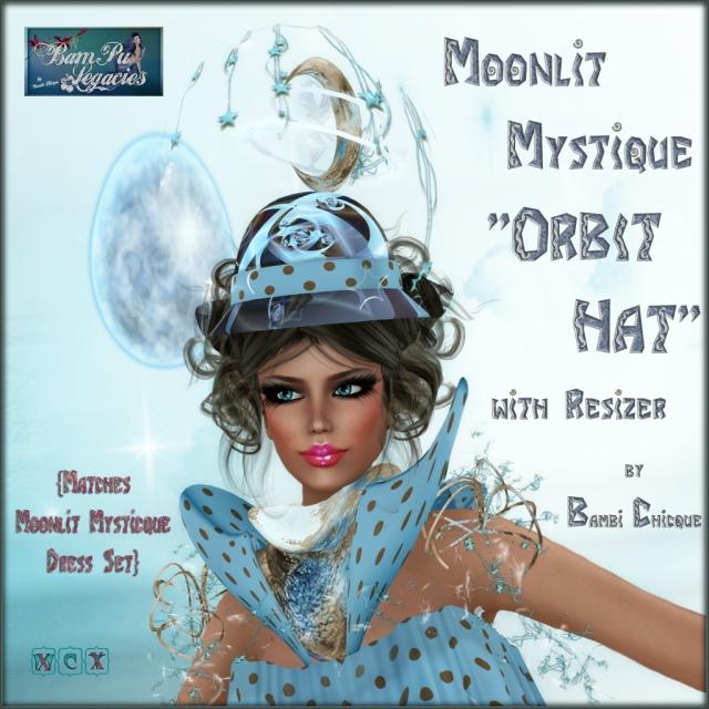 Moonlit Mystique Orbit Hat!