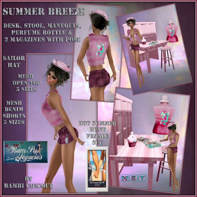 Summer Breeze ~ Hot Summer Hunt III ~ Female Prize