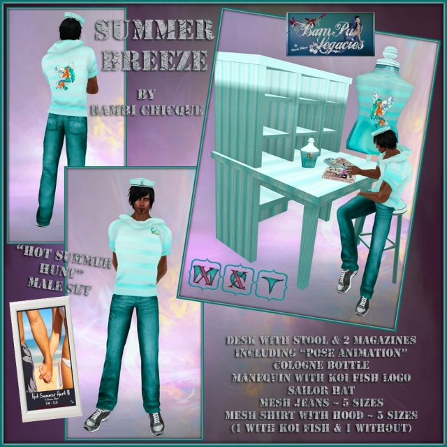 Summer Breeze ~Hot Summer Hunut III ~ Male Prize !