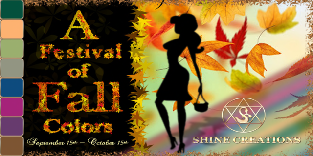 """A Festival Of Fall Colors 2013 Hunt"" At Shine Creations Mall ~ September 15 thru October 15"