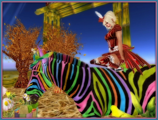 Argus Dreams ~ Argus on BamPu Legacies' Zamora Welcome Zebra!