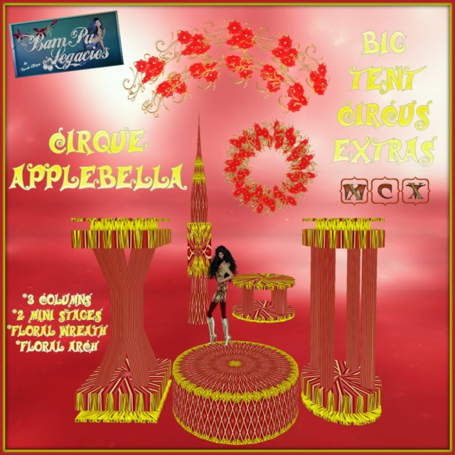 "Cirque Applebella Big Tent ""Extra's"""