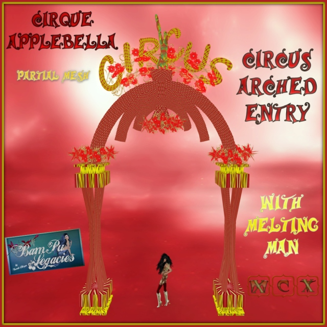 Cirque Applebella ~ Circus Arch Entry