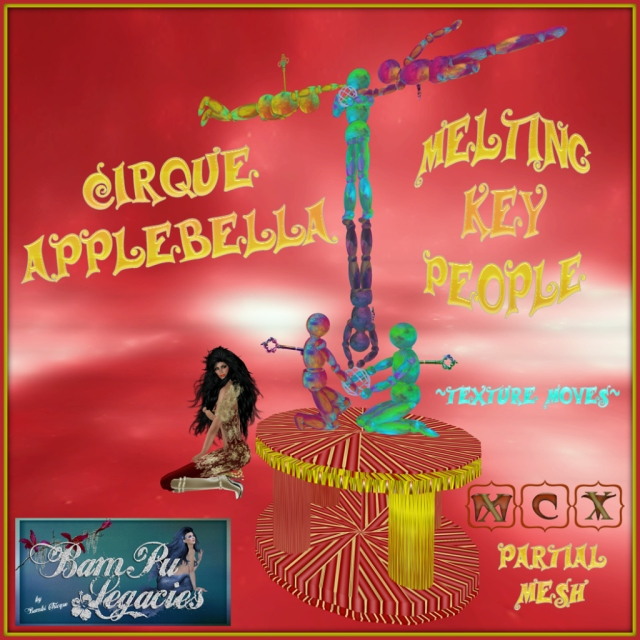 Cirque Applebella Melting Key People ~ Texture Moves!