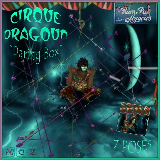 "Cirque Dragoun ""Daring Box"" with 7 Poses!"