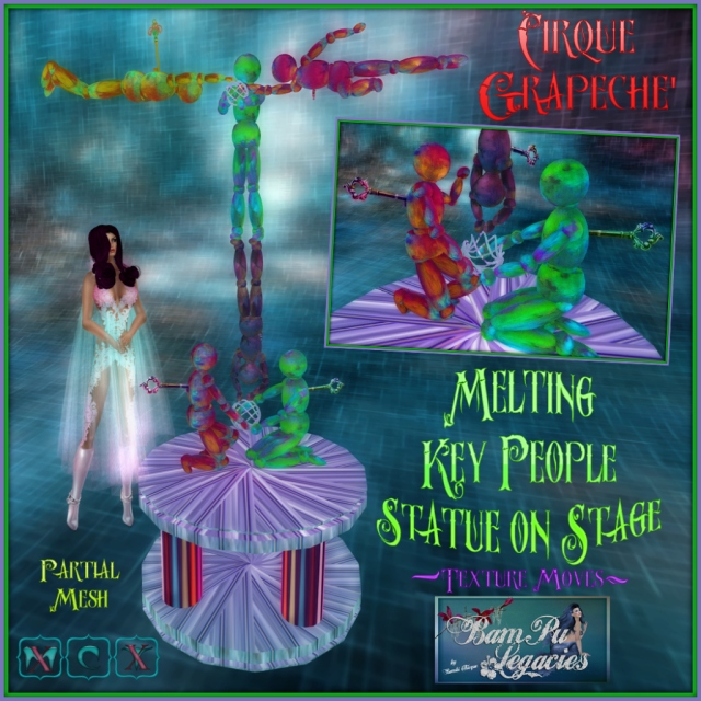 Cirque Grapeche' Melting Key People ~ Texture Moves!
