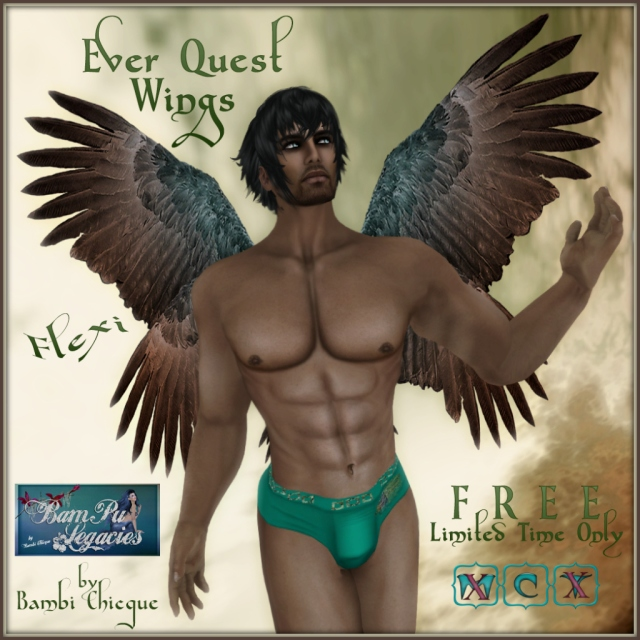 """Ever Quest"" Flexi Wings ~ Free for a Limited Time!"