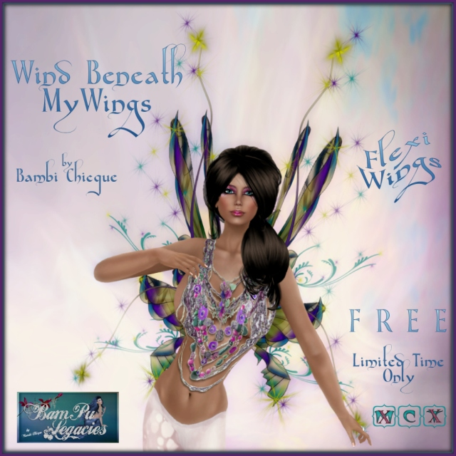 """Wind Beneath My Wings"" Flexi Wings ~ Free for a Limited Time!"
