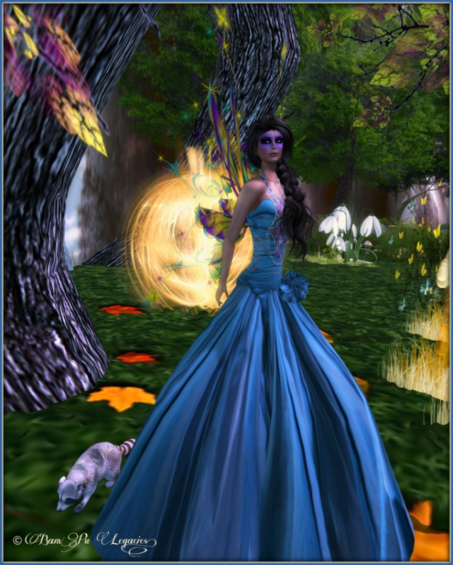 Zoetic Forest ~ Bambi Chicque at Two Moon Paradise Fantasy Forest