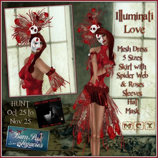 Illuminati Love by Bambi Chicque of BamPu Legacies