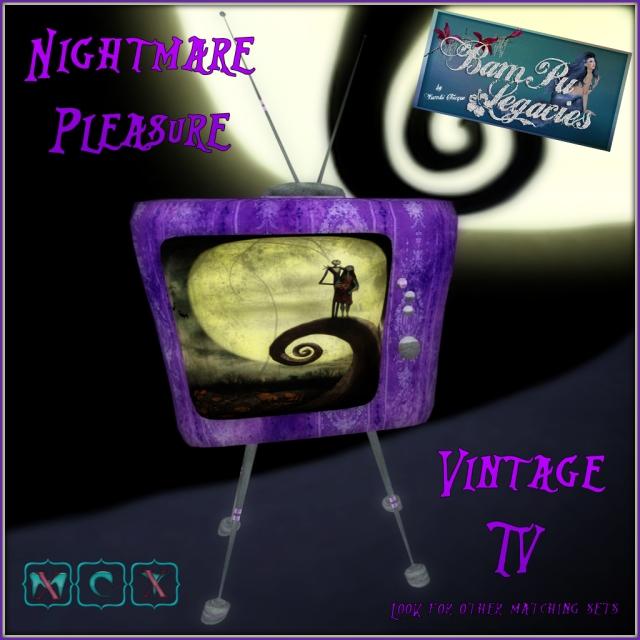 Nightmare Pleasure Vintage TV