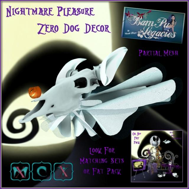 Nightmare Pleasure Zero Dog Decor