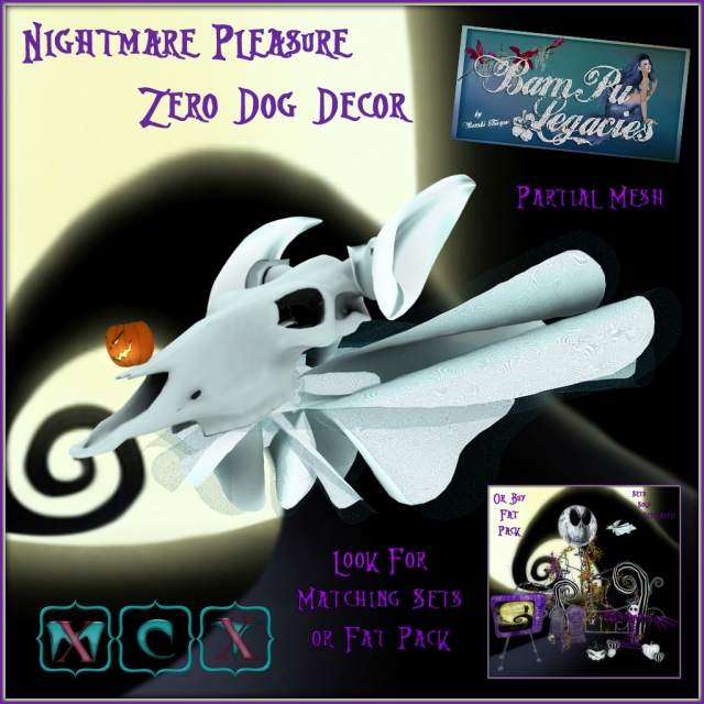 Nightmare Pleasure Zero Dog Decor