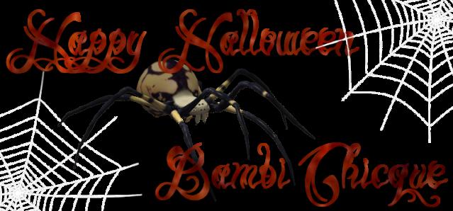 bc~Spider Happy Halloween logo. copy
