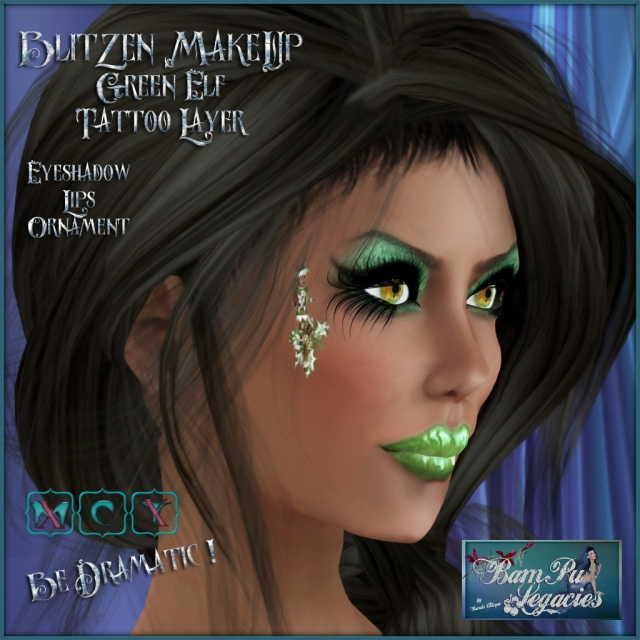 Blitzen MakeUp ~ Green Elf