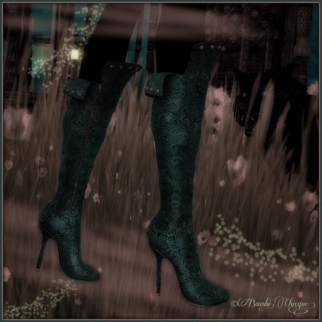 HollyHood's Charleston Teal Boots