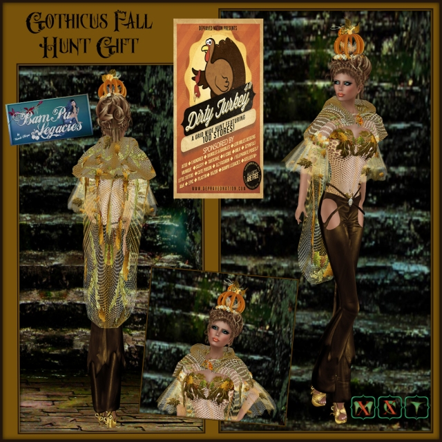 Gothicus Fall ~ Dirty Turkey Hunt 4.0 Female Item 2013