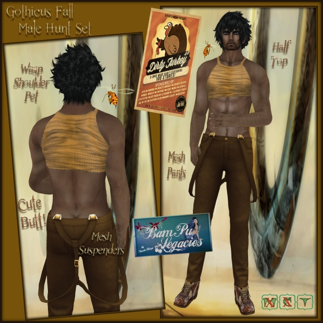 Gothicus Fall ~ Dirty Turkey Hunt 4.0 Male Item 2013