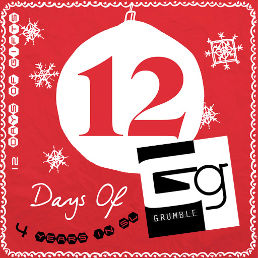 Grumble-12 Days Promo