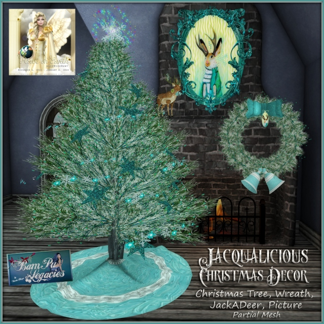 JACQUALICIOUS Christmas Decor by Bambi Chicque of BamPu Legacies