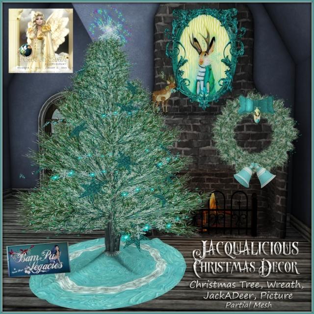 JACQUALICIOUS Christmas Decor by Bambi Chicque of BamPu Legacies