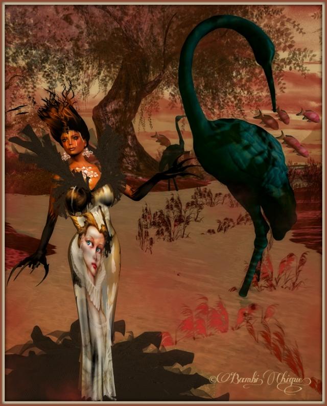 Utopian Morrow by Bambi Chicque